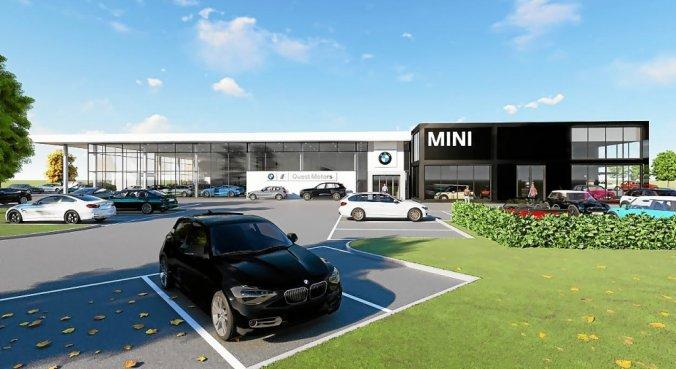 Esquisse du projet BMW / Mini