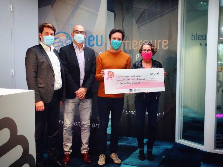 Le Groupe Bleu Mercure s'engage contre le cancer